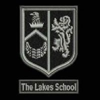 The Lakes School embroidered school logo