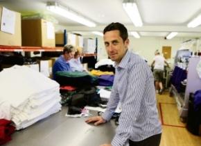 Paul Riley in Coniston Corporate UK premises