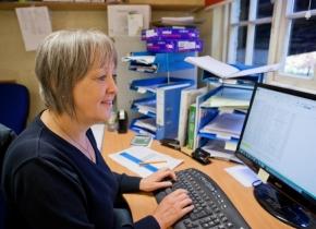 Christine, our online shop creator