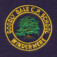 Goodlydale C P School embroidered school crest