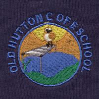 Old hutton C of E school embroidered school logo